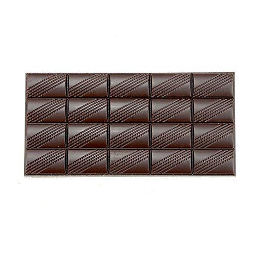 Polycarbonate Bar Mold for Chocolate Diagonal Design