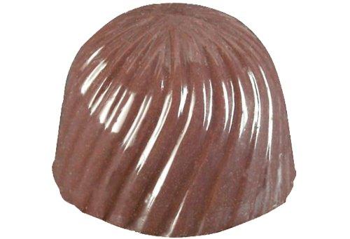 Polycarbonate Bon Bon Swirl Chocolate Mold 21 Cavities