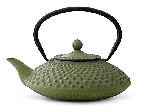bredemeijer Jing Teapot 125-Liter Green Cast Iron