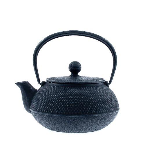 Iwachu 480-161 Japanese Iron Tetsubin Teapot Hobnail Black