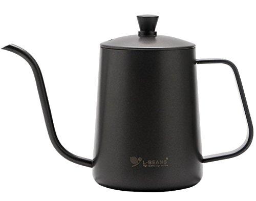 600ML Hand Drip Coffee Pouring Kettle Pour Over Gooseneck Tea Pot