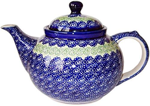 Polish Pottery Teapot or Coffee Pot Evas Collection Alex