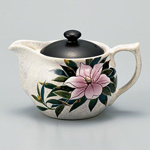 Japanese Ceramic Porcelain kutani ware Japanese kyusu teapot An evergreen magnoria Japanese ceramic Hagiyakiya 522