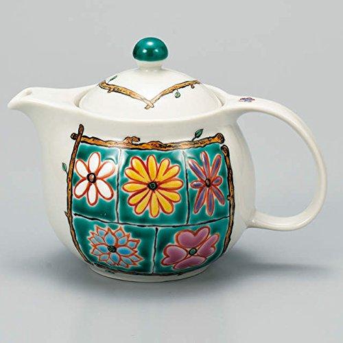 Japanese Ceramic Porcelain kutani ware Japanese kyusu teapot Flower box Japanese ceramic Hagiyakiya 513
