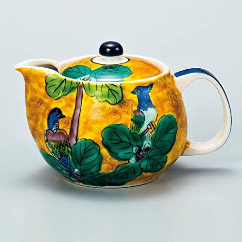 Japanese Ceramic Porcelain kutani ware Japanese kyusu teapot Japanese ceramic Hagiyakiya 508