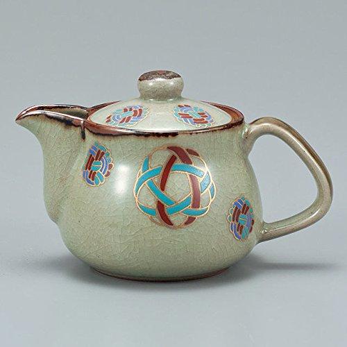 Japanese Ceramic Porcelain kutani ware Japanese kyusu teapot Japanese handball Japanese ceramic Hagiyakiya 503