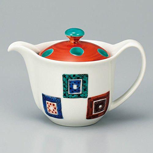 Japanese Ceramic Porcelain kutani ware Japanese kyusu teapot Stone pavement Japanese ceramic Hagiyakiya 514
