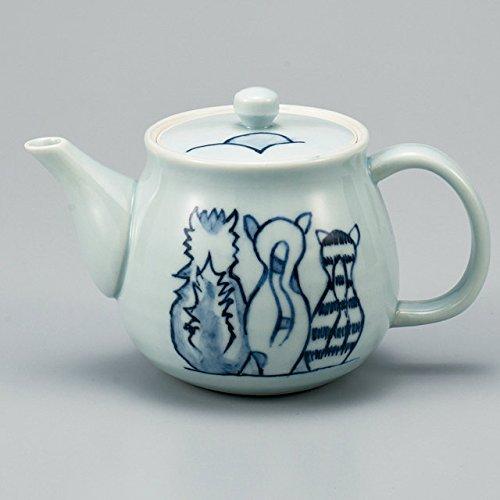 Japanese Ceramic Porcelain kutani ware Japanese kyusu teapot Twilight Japanese ceramic Hagiyakiya 510