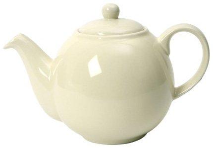 London Pottery 4 Cup Globe Teapot White