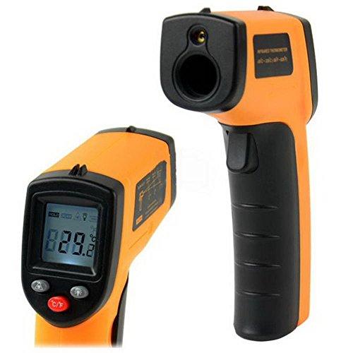 Digital IR Infrared ThermometerNon-contact LCD Laser Temperature Gun - -50 ~ 380℃(-58 ~ 716℉ Instant-read HandheldAuto Power OffBacklight ONOFF
