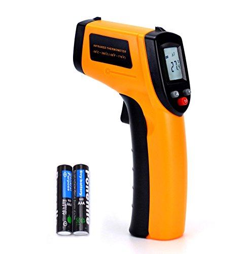Digital Infrared Thermometer Non-contact Laser Temperature Gun IR Thermometer Tester-50ºC~380ºC-58ºF ~716ºF