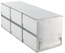 Crystal - BioExcell 3x2 Upright Freezer Rack for Stan 3 Box ES wCB Box and Divider100 Cell EA1