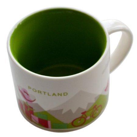 Starbucks Coffee Mug PORTLAND You Are Here Collection Mug Series 14 OZ