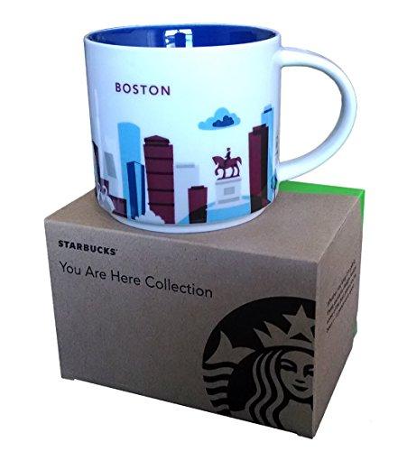 Starbucks Coffee Mug You Are Here Collection Boston 14 Oz
