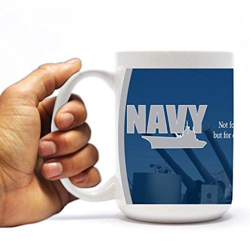 Military Coffee Mug - US Navy - 15 Oz