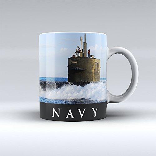 Navy Mug Navy Coffee Mug Navy Submarine Ceramic Mug 15OZ