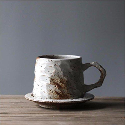 Coffee Mugs Handmade Stoneware Coffee Cup Dish Group Coffee Cup With Simple Art Hand Mug Milk CupA