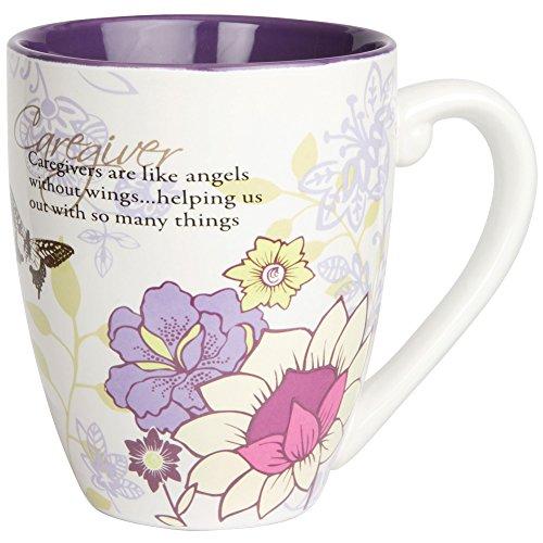 Mark My Words Caregiver Appreciation 20 Ounce Stoneware Tea Cup Coffee Mug