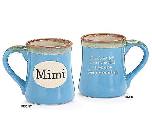 1 X Mimi Handpainted Porcelain 18 oz Coffee Mug