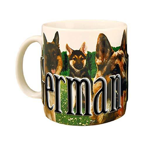 German Shepherd - ONE 18 oz Coffee Mug