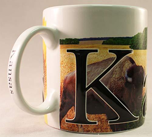 Kansas - ONE 18 oz Coffee Mug
