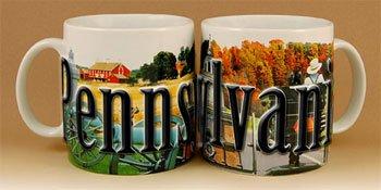 Pennsylvania - ONE 18 oz Coffee Mug