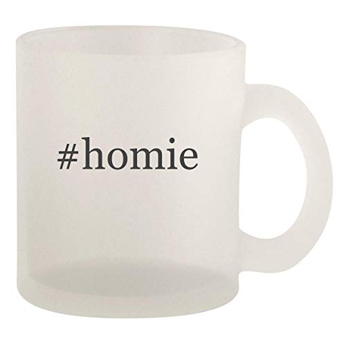 homie - Glass 10oz Frosted Coffee Mug