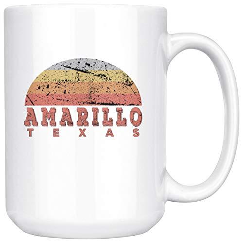 Amarillo Texas Coffee Mug 15 Ounce