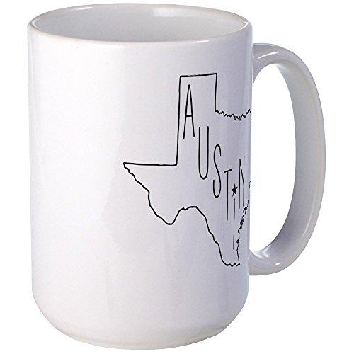 CafePress Austin Texas Coffee Mug Large 15 oz White Coffee Cup