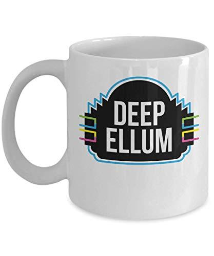 Deep Ellum Neon Sign Dallas Texas Coffee Mug Gift Souvenir