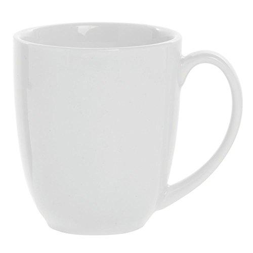 Cardinal Capitale Bright White Porcelain Coffee Mug 14 12 Oz