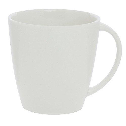 Cardinal Olea 1175 oz White Porcelain Coffee Mug - 4 12L x 4W x 4H