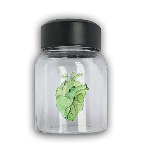 Mini Travel Mug Cactus Heart Small Mug Glass Mug