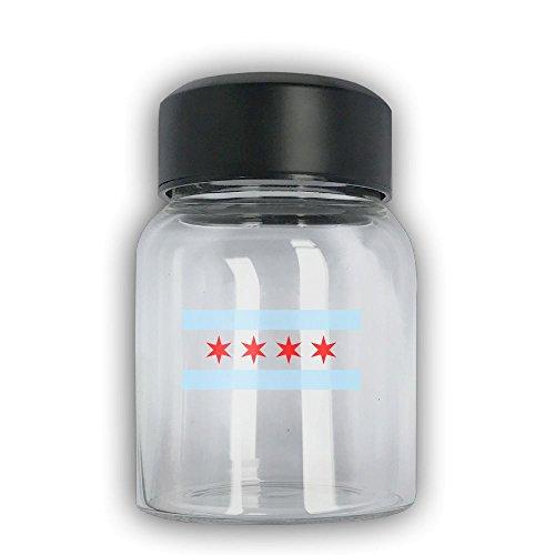 Mini Travel Mug Chicago Flag Small Mug Glass Mug
