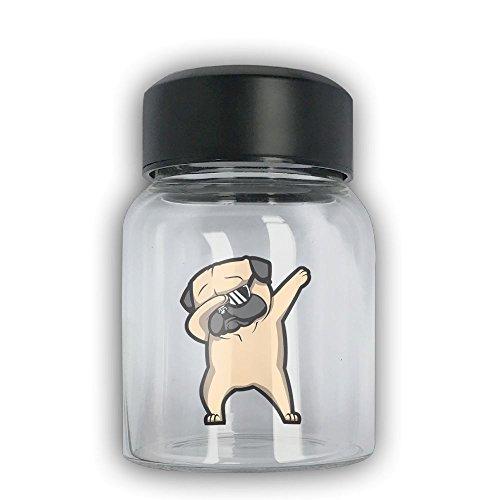 Mini Travel Mug Dab Pug Small Mug Glass Mug