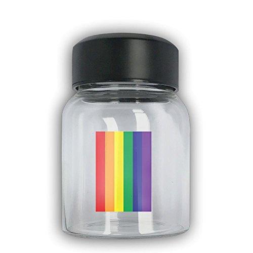 Mini Travel Mug Gay Pride Flag Small Mug Glass Mug