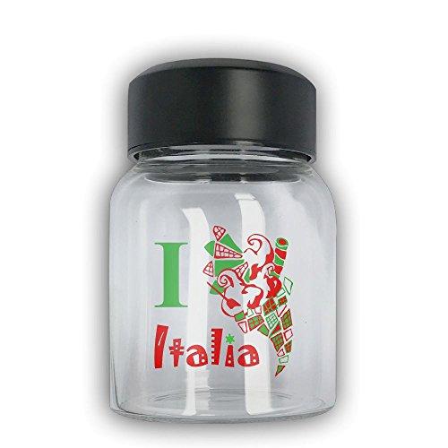 Mini Travel Mug I Llove Italia Small Mug Glass Mug
