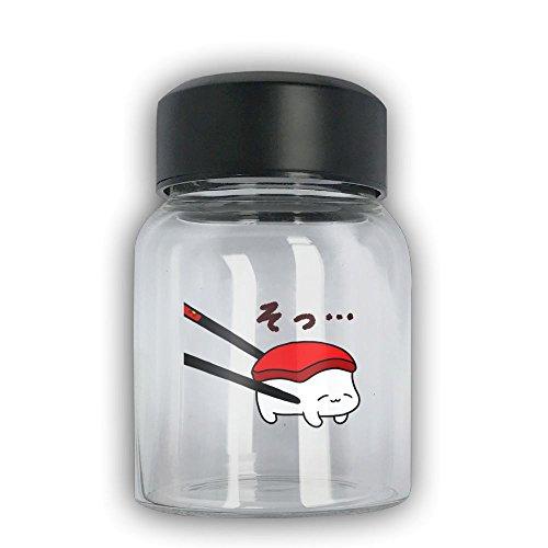 Mini Travel Mug Kawaii Sushi Small Mug Glass Mug