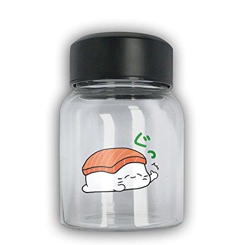 Mini Travel Mug Sushi Small Mug Glass Mug