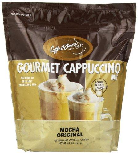 Caffe DAmore Cappuccino Mocha Original 3-Pound