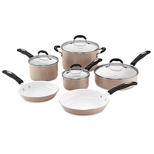Cuisinart Ceramic Nonstick 10-Piece Cookware Set