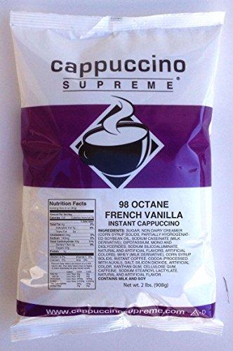 Cappuccino Supreme 98 Octane Instant Cappuccino Mix
