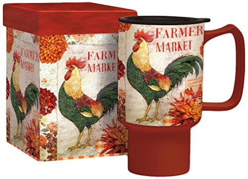 Lang Farmers Market Travel Mug by Kimberly Poloson 2127024