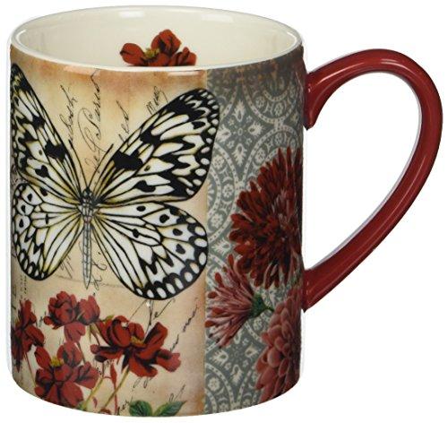 Lang Fly Away Mug by Kimberly Poloson 14 oz Multicolored