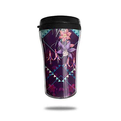 Diamond Floral Decor New Fashion 85oz Coffee Mugs Thermal Mug Cute Small Tea Cups Meeting Portable Exquisite Novelty
