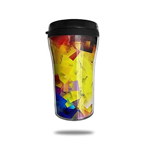 Shiny Crystal Lattice New Fashion 85oz Coffee Mugs Thermal Mug Cute Small Coffee Mugs Breakfast Portable Exquisite Novelty