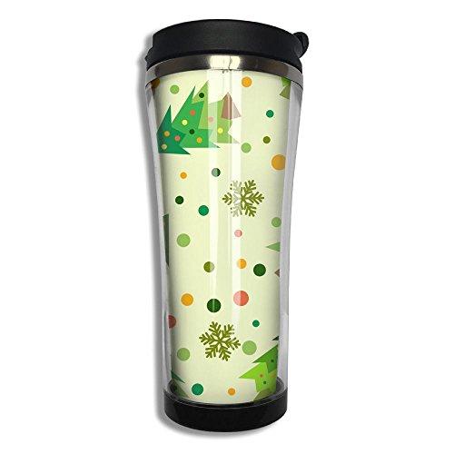 Hfaw Great Christmas Men Women Outdoors Simple Travel Mug For Coffee Or Tea Unisex