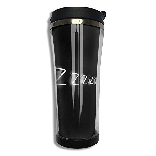 Hfaw Sleepy ZZZ Men Women Outdoors Simple Travel Mug Cups Unisex