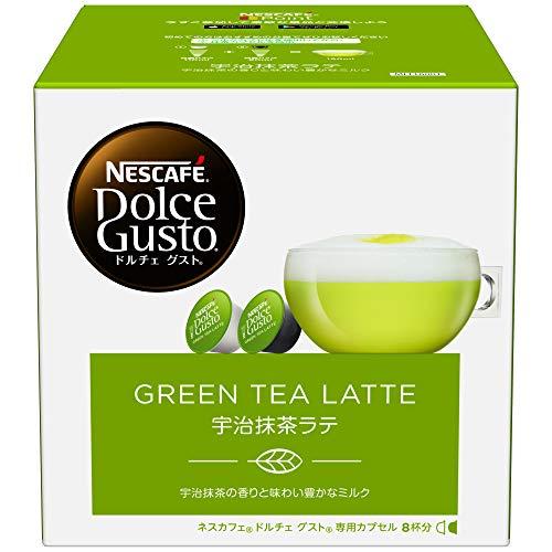 Nestle Coffee Capsules for Nescafe Dolce Gusto - Uji Matcha Green Tea Latte Taste Japan Import