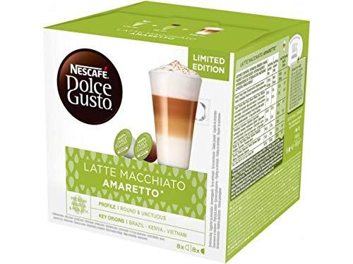 Nescafe Dolce Gusto AMARETTO Latte Macchiato coffee pods for Dolce Gusto Machines